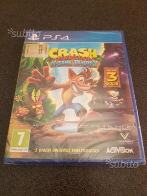 Crash bandicoot n-sane trilogy sigillato
