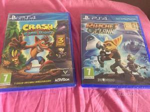 Crash bandicoot & ratchet e clank