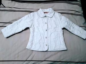 Giacchina bimba Brums bianca 3 anni