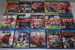 Giochi PS3 e PS4