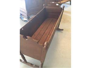Culla a dondolo in legno fatta a mano parma posot class - Letto a dondolo ...
