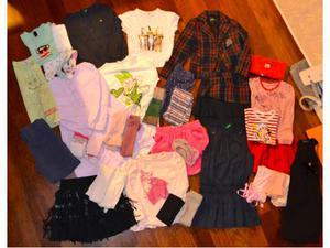 Lotto abbigliamento primavera bambina 5 anni.