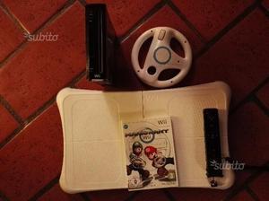 Nintendo Wii RVL 001 (EUR) + pedana e volantino