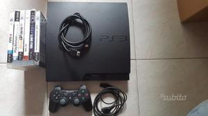 PS3 Slim + Giochi