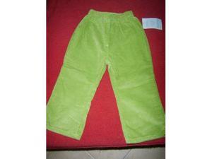 Pantalone di velluto verde mela nuovo con etichetta