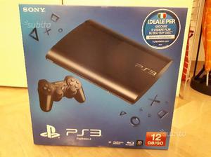 Playstatio 3 super slim 12GB con 6 giochi