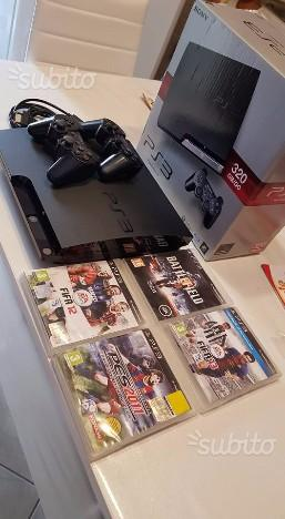 Ps3 slim 320 gb cn giochi