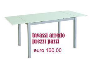 Tavolo alluminio con vetri satinati arredamenti tavassi