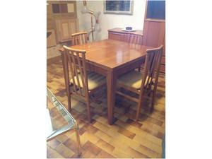 Vendo tavolo usato + 4 sedie