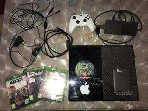 Xbox one da 500gb piu memoria esterna da 1 tera