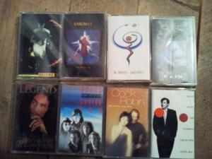 36 cassette originali artisti vari