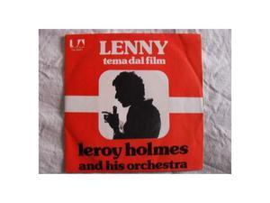 """45 giri (7"""") """"LENNY"""" [tema dal film] by Leroy Holmes ()"""