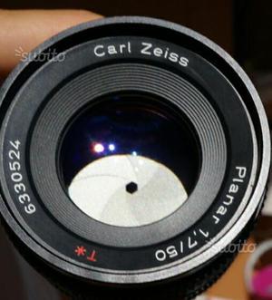 Carl Zeiss Planar 50mm f/1.7 T Contax  CY 50