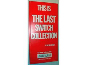 Catalogo Swatch  ultima collezione del millennio