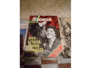 Due volumi Storia Illustrata, e.. Trieste Torna All'Italia