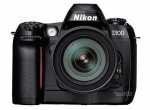 Nikon d100 con obbiettivo af
