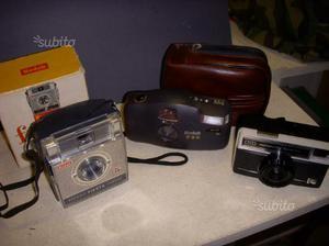 POLAROID + KODAK lotto macchine fotografiche