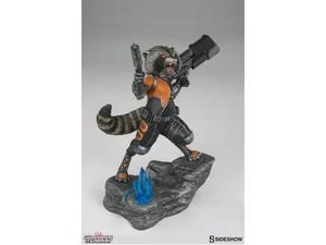Sideshow toys guardian o/t galaxy rocket raccoon prem statua