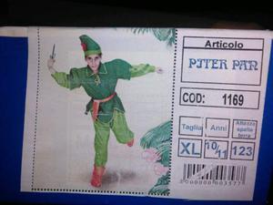 Vestito di carnevale (Pjter Pan)
