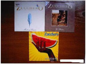 Zucchero 3 cds promotional mercato spagnolo