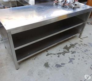 Tavoli lavoro in acciaio inox usati rovigo posot class - Tavoli da bar usati ...