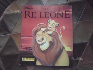 Album figurine Il re leone ,panini