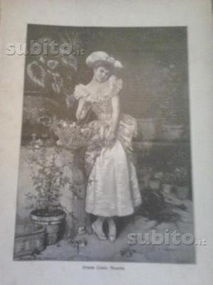 Antica Scena Illustrata di Pillade Pollazzi