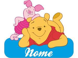 Fiocco nascita Bimbo Bimba Coccarda Winnie the Pooh