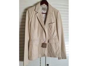 Giubbino pelle giacca Conbipel nuovo con etichetta