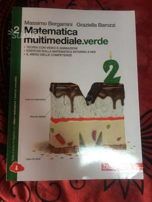 Libro Matematica multimediale.verde