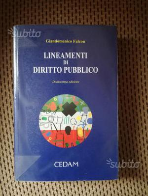 Lineamenti di diritto pubblico. Giandomenico Falco