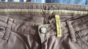 Pantaloni jeans donna guess lilla tg 30