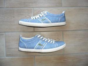 Scarpa LACOSTE colore azzurro e bianco