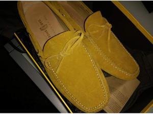 Scarpe nuove originali car shoe nuove mai usate numero 42