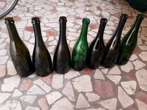 10 Bottiglie in vetro da 0.75 L