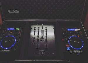 Console DJ completa + FlightCase (tutto nuovo)