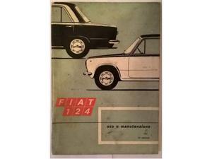 Fiat 124 Berlina Libretto Manuale uso e manutenzione