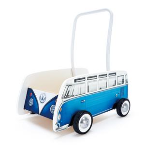 Hape Carrello Primi Passi Autobus d'Epoca Blu E