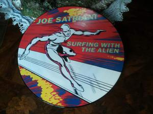 Joe SATRIANI pict. disc surfing with..RARO 1a STAMPA