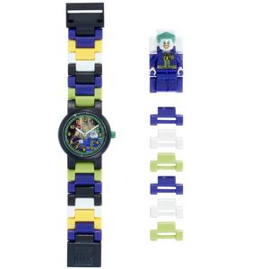 LEGO Heroes Orologio Componibile Joker in Plastica