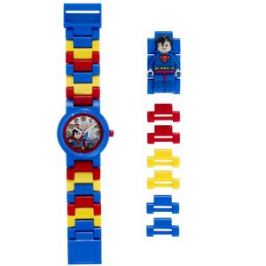 LEGO Heroes Orologio Componibile Superman in Plastica