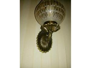 Lampade a muro applique ampolla artistiche bronzo