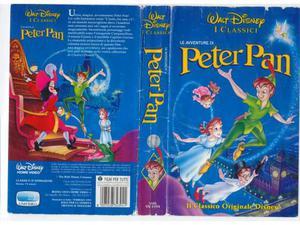 Le avventure di peter pan - walt disney - vhs - usata