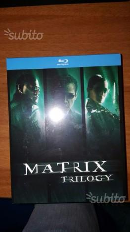 Matrix trilogia completa film bluray nuovo