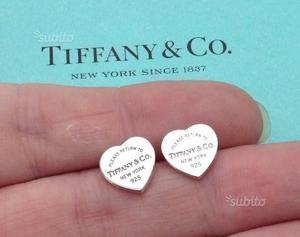 Orecchini cuore Tiffany
