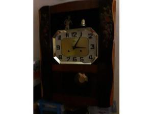 Orologio a Pendolo francese ODO meccanico con campana
