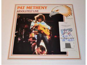 PAT METHNENY - 11° Ballantines Festival (Ticket Signed+