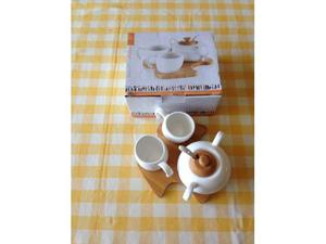 Servizio da caffè Brandani con zuccheriera