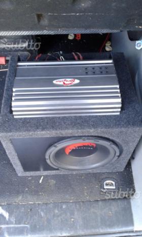Sub amplificatore dragster