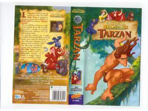 Tarzan - walt disney - vhs - usata
